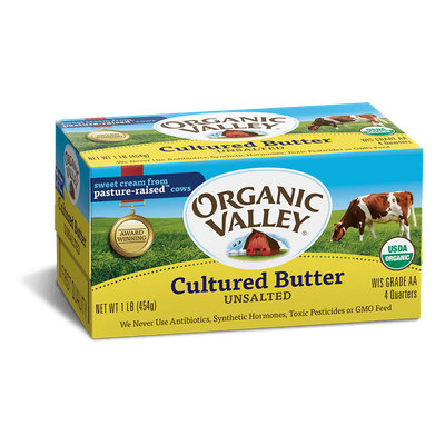 Organic Valley® Cultured Unsalted Butter