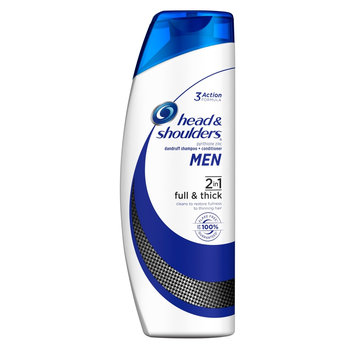 Head & Shoulders Men 2 in 1 Full & Thick Dandruff Shampoo + Conditioner