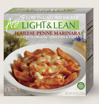 Amy's Kitchen 3 Cheese Penne Marinara Light & Lean