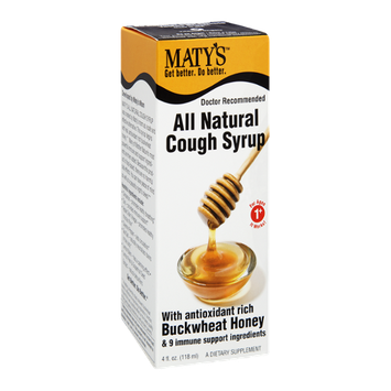 Maty's All Natural Buckwheat Honey Cough Syrup