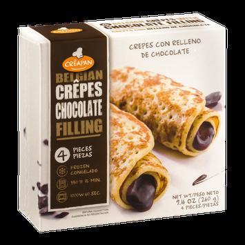 Creapan Belgian Crepes Chocolate Filling - 4 CT