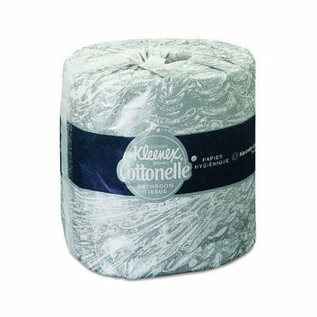 Kimberly-Clark Kleenex Cottonelle Standard Bath Tissues in White