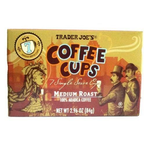 Trader Joe\'s Coffee Cups - Single Serve - Medium Roast Arabica ...