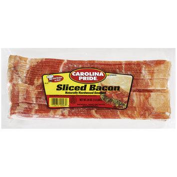 Carolina Pride Naturally Hardwood Smoked Sliced Bacon, 24 oz