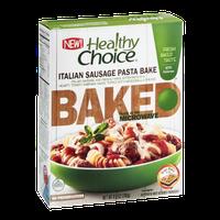 Healthy Choice Baked Pasta Bake Italian Sausage