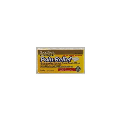 Good Sense Arthritis Pain Relief Acetaminophen Extended-Release Tablets, 650mg, 50 ea