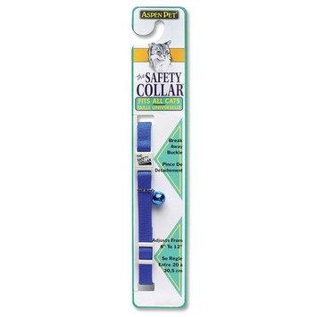 Petmate Doskocil Co. Inc. Breakaway Cat Collar, Adjustable, Blue, 3/8