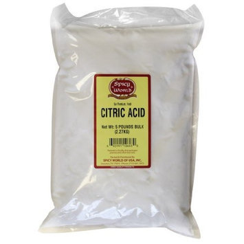 Spicy World Citric Acid, 5-Pound