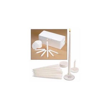 Will & Baumer 60415 Candle Candlelight Service Set With 120 Candles