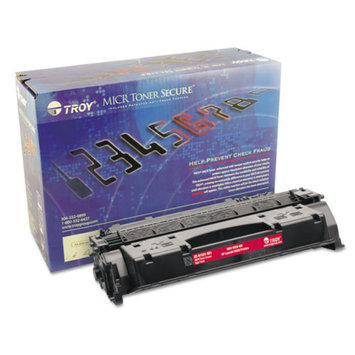 Troy 02-81551-001 Troy 281551001, CF-280X, MICR High-Yield Toner Secure, 6800 Page-Yield, Black