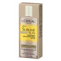 L'Oréal Paris Sublime Sun Advanced Sunscreen Liquid Silk Lotion for Face SPF 30