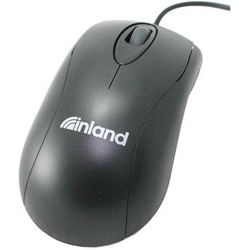 Inland USB Optical Mouse, Black