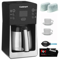 Cuisinart DCC-2900 12-Cup PerfecTemp Thermal Coffee Maker Bundle