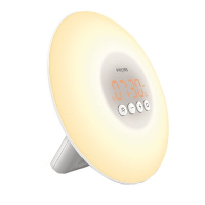 Philips Light Therapy Wake-up Light, Model HF 3500/60, 1 ea