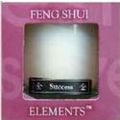 Aloha Bay Feng Shui Candle Jar Metal 2.5 oz