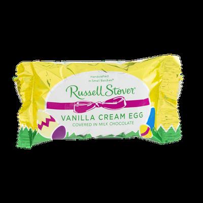 Russell Stover Vanilla Cream Egg in Milk Chocolate