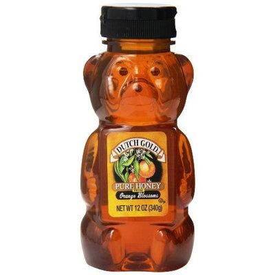 Dutch Gold Honey Dutch Gold Pure Honey Orange Blossom, 12 Ounce Bear (Pack of 12)