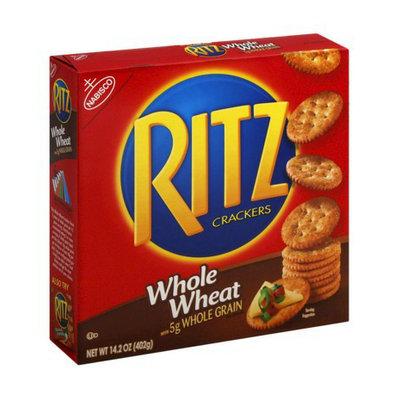 Nabisco Ritz Whole Wheat Crackers 14.2 oz