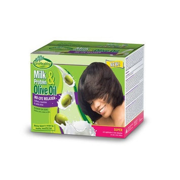 Sofn'free Milk Protein & Olive Oil No-Lye Relaxer Super
