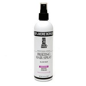 Salon Grafix Non-Aerosol Freezing Hair Spray Styling Mist
