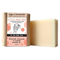 Biggs & Featherbelle Bigss & Featherbelle Soap Bar, Little Bigg Bar, 3.5 Ounce (Pack of 2)