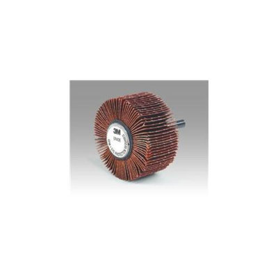 3M Abrasive 405-051144-80757 Flap Wheel Orange, 1 x 1 x 0. 25 inch 10 Each Per Carton
