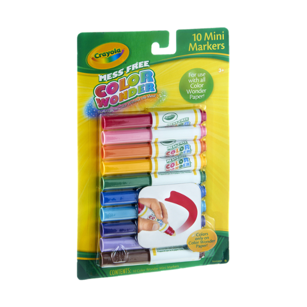 Crayola Mess Free Color Wonder Mini Markers