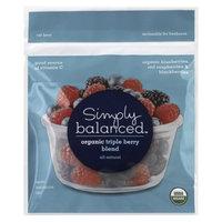 Simply Balanced Organic Triple Berry Frozen Fruit
