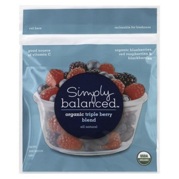 Simply Balanced Organic Triple Berry Frozen Fruit