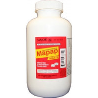 Extra Strength Mapap (Generic extra strength Tylenol) 1000 Tablets (500mg)