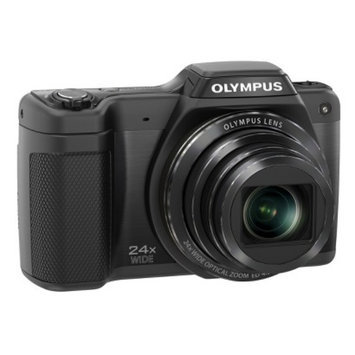 Olympus Optical Co Ltd OLYMPUS SZ-15 16MP Digital Camera with 24x Optical Zoom - Black