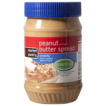 market pantry Market Pantry Reduced Fat Crunchy Peanut Butter Spread 18 oz