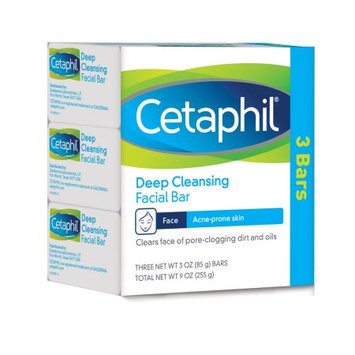 Cetaphil Deep Cleansing Facial Bar for Acne-Prone Skin