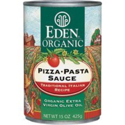 Eden Organic Pizza Pasta Sauce, Extra Virgin Olive Oil, 15-Ounce Cans (Pack of 12) ( Value Bulk Multi-pack)
