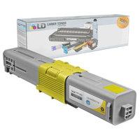 LD Okidata Compatible 44469719 (Type C17) High Yield Yellow Laser Toner Cartridge
