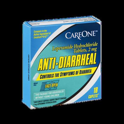 CareOne Anti-Diarrheal Caplets