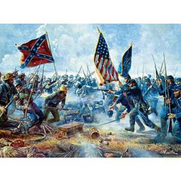 Buffalo Games Civil War The Angle 1000 Pcs Ages 14+