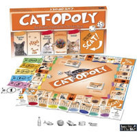 Late for the Sky Productions Late for the Sky CAT-OPOLY Board Game