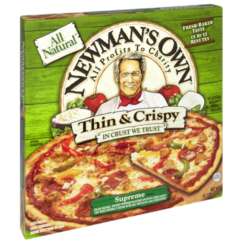 Newman's Own All Natural Thin & Crispy Supreme Pizza