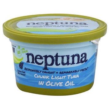 Neptuna Chunk Light Tuna in Olive Oil, 5.2 oz, (Pack of 12)