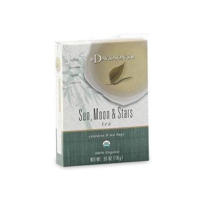 Davidson's Tea Davidson Organic Tea 2230 Sun Moon And Stars Tea Box of 8