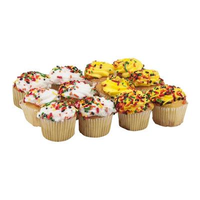 Ahold Mini Gold Cupcakes Harvest - 12 CT