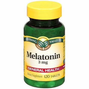Spring Valley Melatonin 3 mg