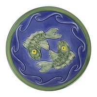 Achla Designs Blue Fish Bowl (Discontinued by Manufacturer)