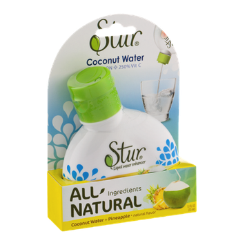 Stur Liquid Water Enhancer Coconut Water + Pineapple