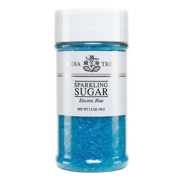 India Tree Electric Blue Sparkling Sugar, 3.5 oz (Pack of 4)