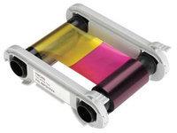 EVOLIS R6F003AAA Multi Color Ribbon,200 Cards Per Roll