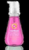 method foaming body wash water flower
