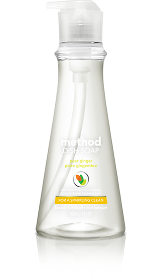 method dish soap pear ginger