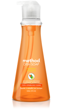 method dish soap clementine